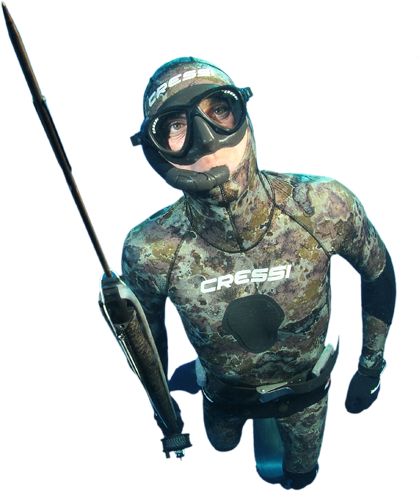 Cairns Website Designer - thinkLuke loves spear fishing