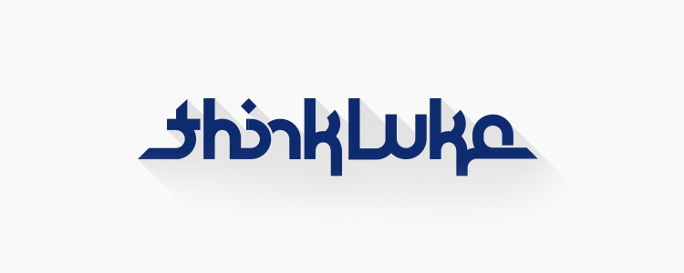New thinkLuke logo and website design