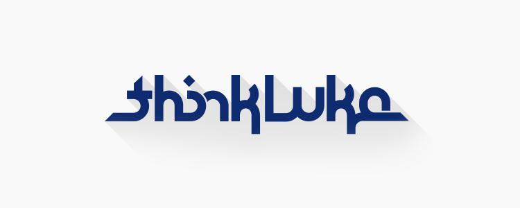 New thinkLuke logo and website design