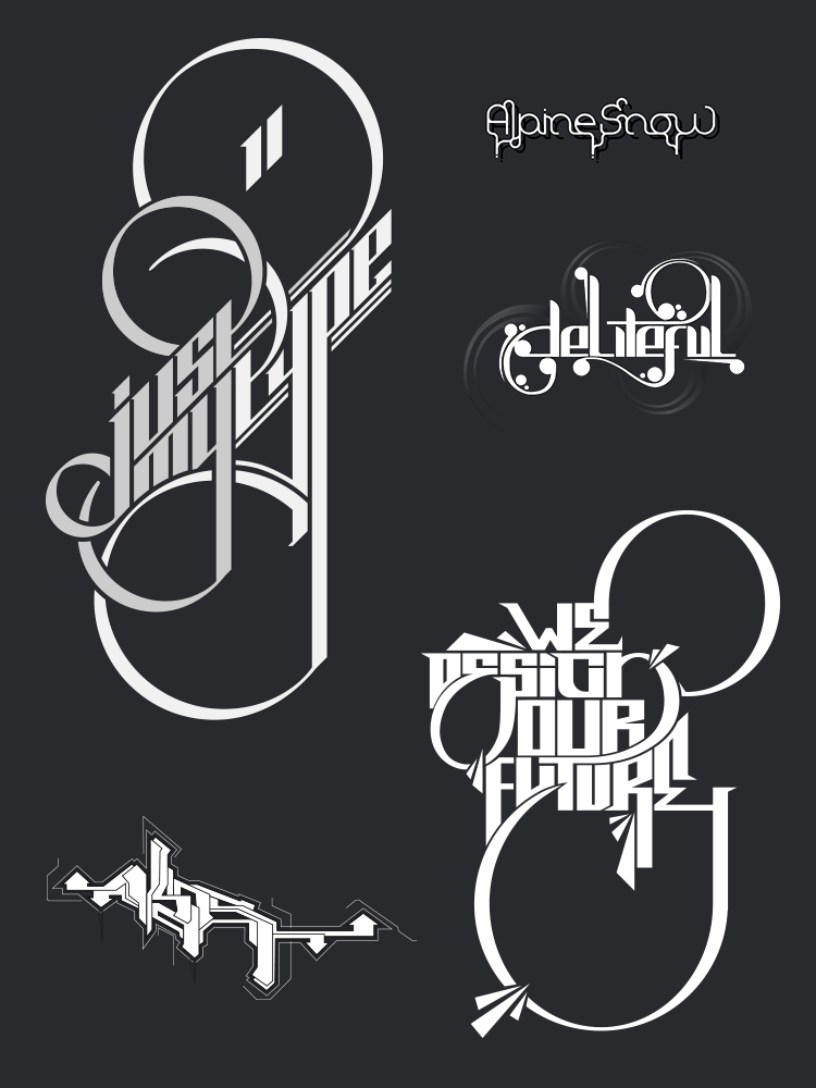 Random Logo Designs and Graffiti