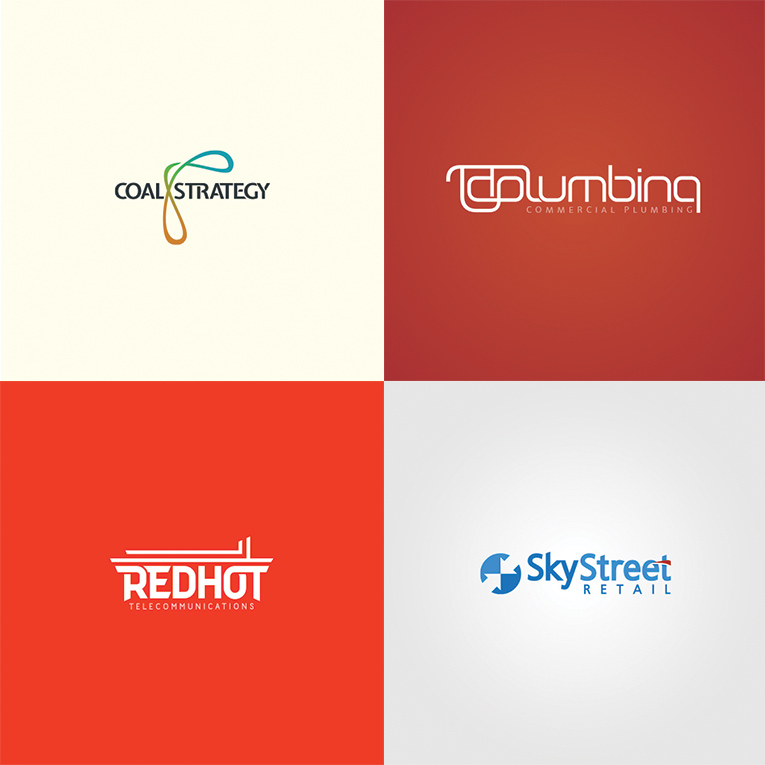 Recent logo designs for Sunshine Coast Clients