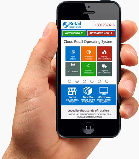 Mobile Website Design for Cairns Clients