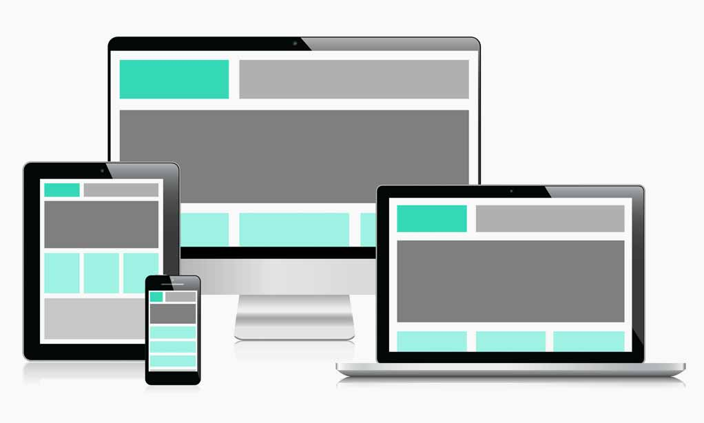 Picture of Responsive Website Design, mobile, tablet and deskptop