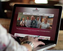Covey Website Design Sunshine Coast